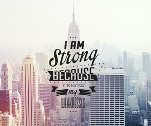 strong, weakness, and city image