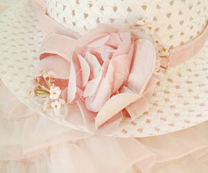 hat, pink, and pastel image