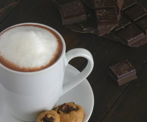 chocolate, coffee, and cold image
