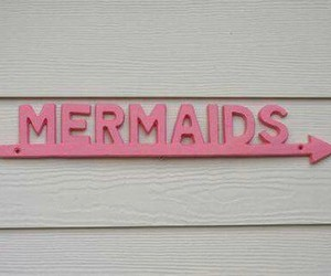 mermaid, pink, and tumblr image