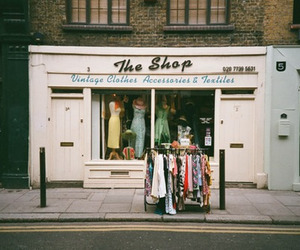 vintage, clothes, and shop image