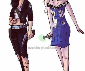 supernatural, doctor who, and tardis image