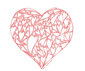 love, heart, and coracao image