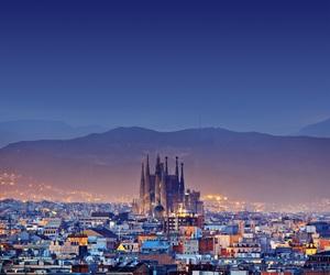 Barcelona, Sagrada Familia, and *love image