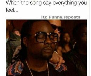 Lyrics, meme, and music image