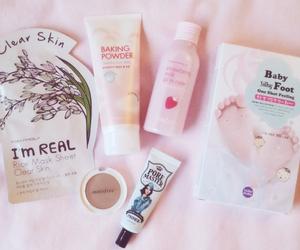 cosmetics, pink, and tonymoly image