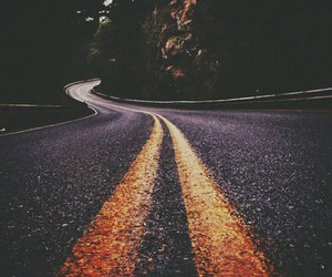 road, travel, and photography image