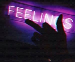 black, indie, and feelings image