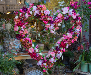 flowers, heart, and blommor image