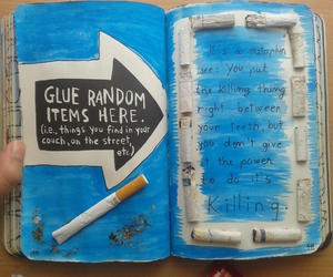 cigarette, wreck this journal, and the fault in our stars image