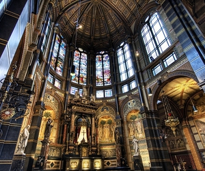 amsterdam, bright, and cathedral image