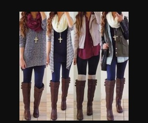 artsy, autumn, and clothes image