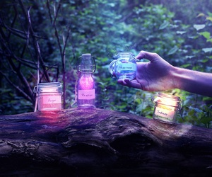 magic, light, and colors image