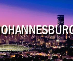cities, johannesburg, and night image