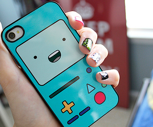 iphone, case, and adventure time image