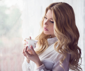 cup of tea, Dream, and girl image