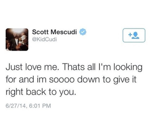 kid cudi, quotes, and text image