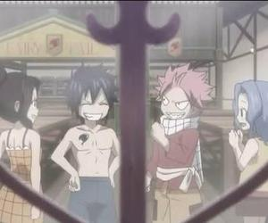 fairy tail, gray fullbuster, and a n i m e image