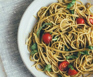 food, pasta, and eat image