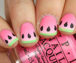 fruit, girl, and nails image