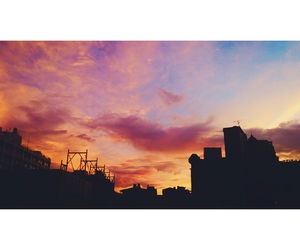 colorful sky, home, and photograph image