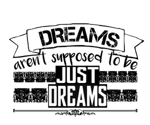 black and white, dreams, and quotes image