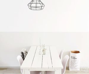 dining, minimal, and room image