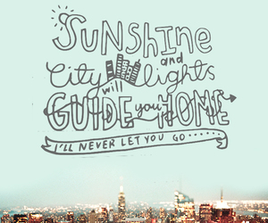 sunshine, city, and home image