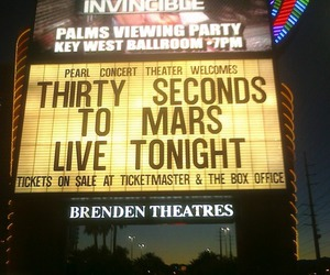 30 seconds to mars, jared leto, and Las Vegas image