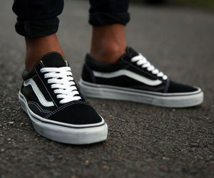 vans, black, and fashion image