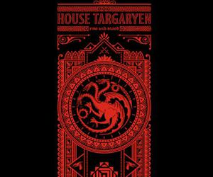 game of thrones, qwertee, and targaryen image