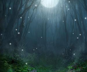 moon, magic, and night image