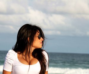 girl, beach, and jéssica torres image