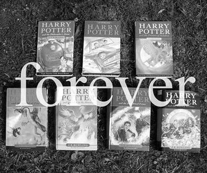 harry potter, forever, and book image