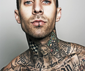 tattoo, travis barker, and blink 182 image