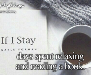 books, relaxing, and justgirlythings image