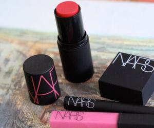 nars, pink, and lipstick image