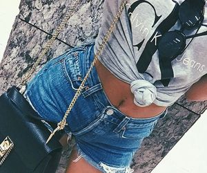 denim, levis501, and hotpants image