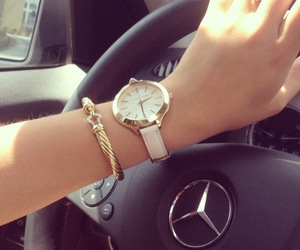 bracelet, car, and watch image
