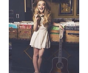 sabrina carpenter and guitar image