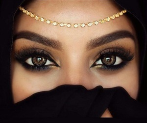 arabic, beauty, and make up image