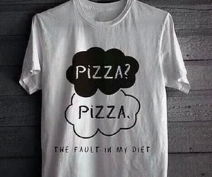 pizza, diet, and funny image