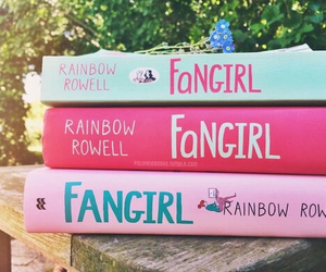 book, fangirl, and fangirl book image