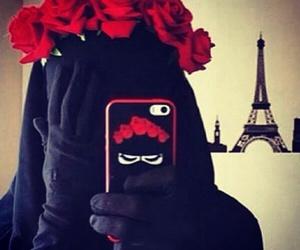 niqab, 💕, and prîncesse image