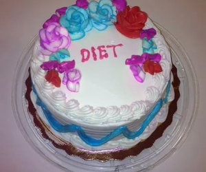 cake, diet, and food image