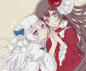 pandora hearts, jumelles, and alice baskerville image