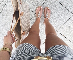 fashion, bag, and summer image
