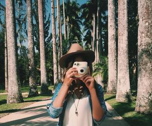 blonde, camera, and sun image