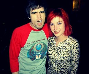 brendon urie and hayley williams image