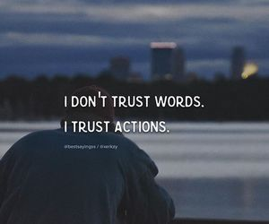 quotes, trust, and words image